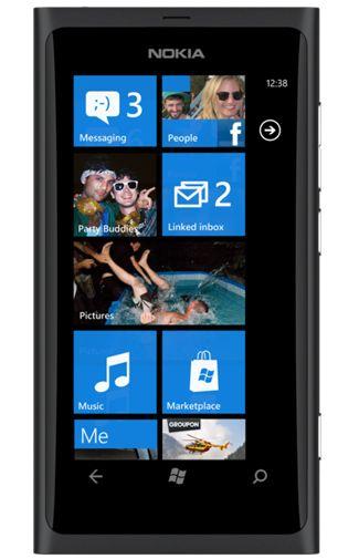Nokia Lumia 800 Zwart vergelijk abonnementen icm deze mobiele telefoon ...
