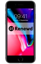 Productafbeelding van de Apple iPhone 8 64GB Black Refurbished
