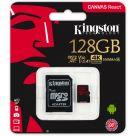 Kingston Canvas React microSDXC 128GB + SD-adapter