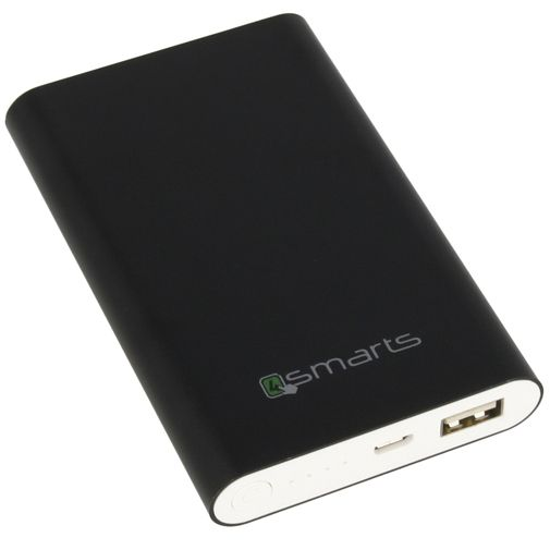 4smarts Essential Powerbank 7200 mAh Black