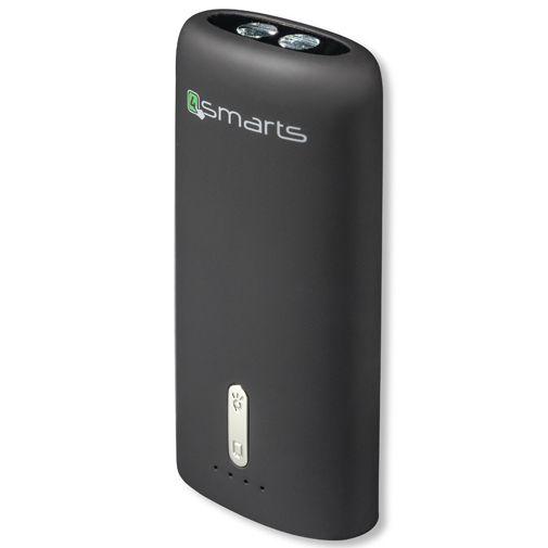4smarts Urban Powerbank 4000 mAh + Flashlight Black