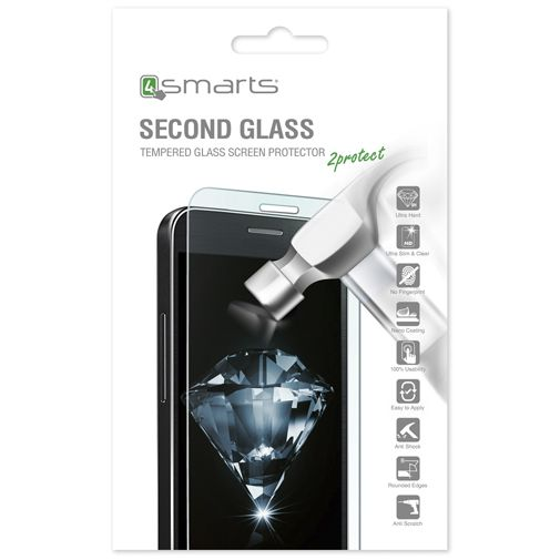 4smarts Second Glass Screenprotector Apple iPhone X/XS