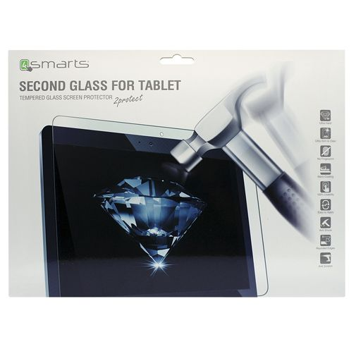 Productafbeelding van de 4smarts Second Glass Screenprotector Samsung Galaxy Tab E 9.6