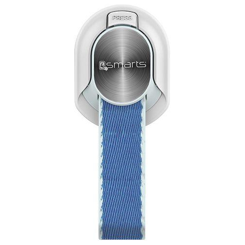 Productafbeelding van de 4smarts Finger Strap White/Blue