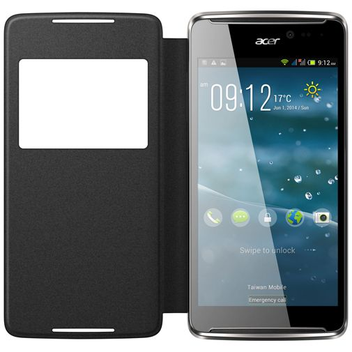 Acer Active Flip Case Grey Liquid E600