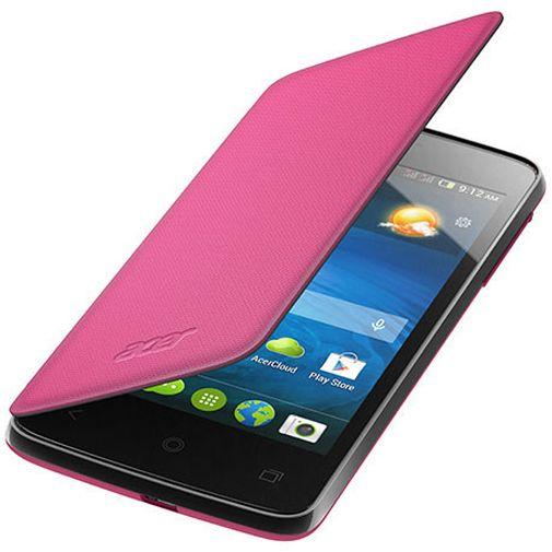 Acer Flip Case Pink Liquid Z4