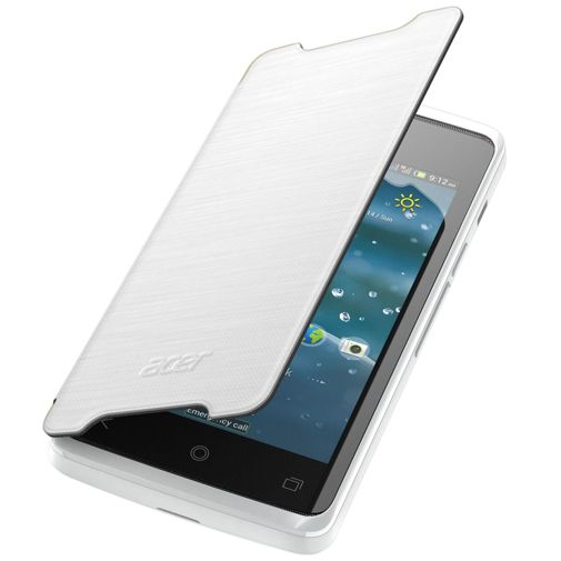 Acer Flip Case White Liquid Z200