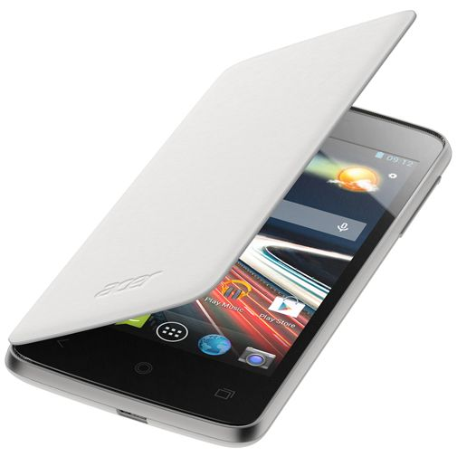 Acer Flip Case White Liquid Z4