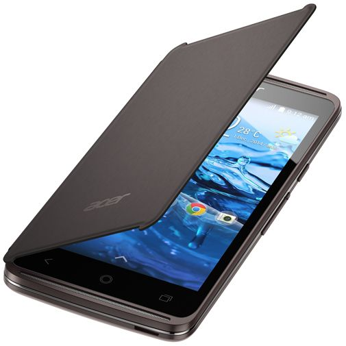 Acer Flip Cover Black Liquid Z410