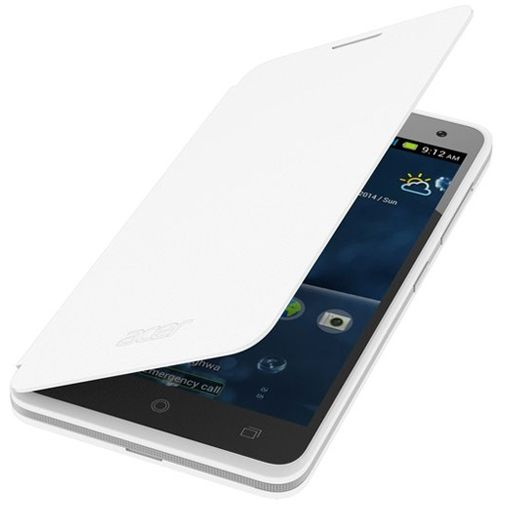 Acer Flip Cover White Liquid Z520