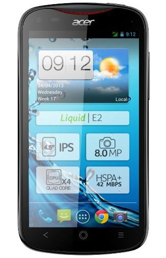 Productafbeelding Acer Liquid E2 Black