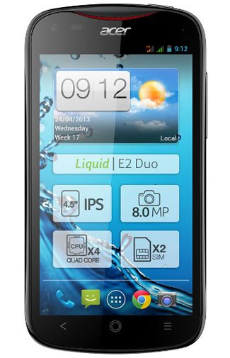 Productafbeelding Acer Liquid E2 Duo Black