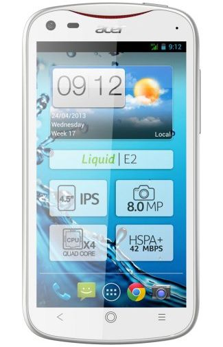 Productafbeelding Acer Liquid E2 White