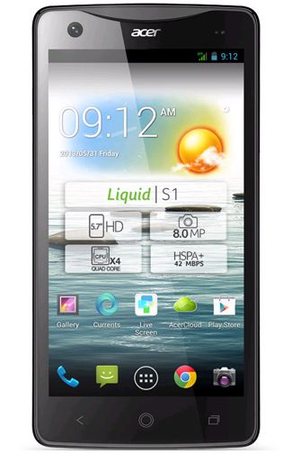 Productafbeelding Acer Liquid S1 Black