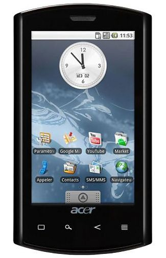 Productafbeelding Acer Liquid E S100 Black