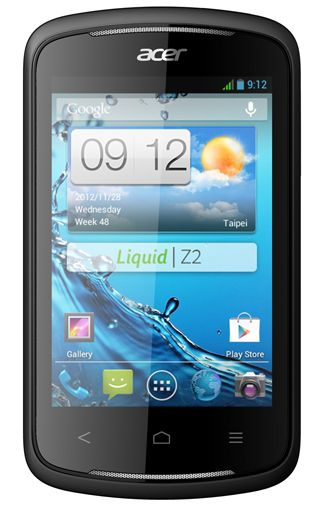 Productafbeelding Acer Liquid Z2 Black