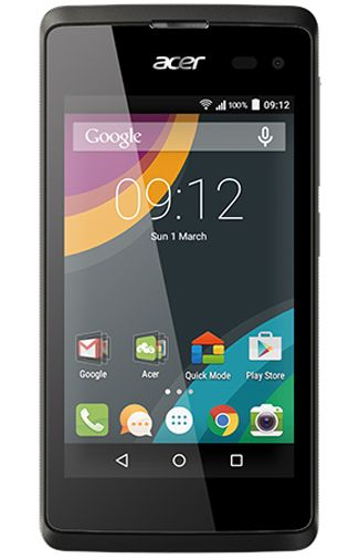 Productafbeelding van de Acer Liquid Z220 Duo Black