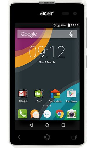 Productafbeelding van de Acer Liquid Z220 Duo White