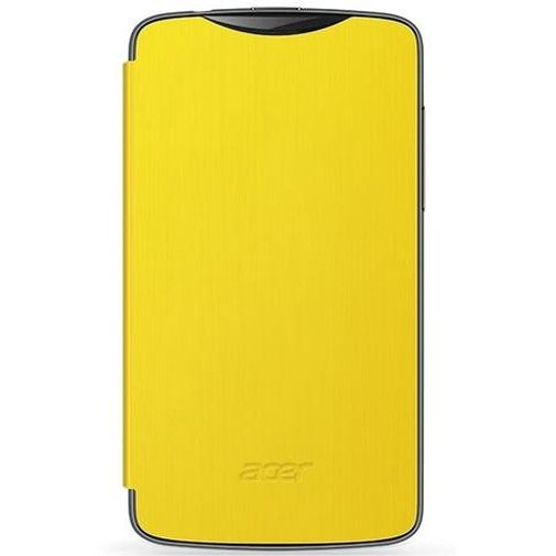 Acer Liquid Z3 Flip Case Yellow