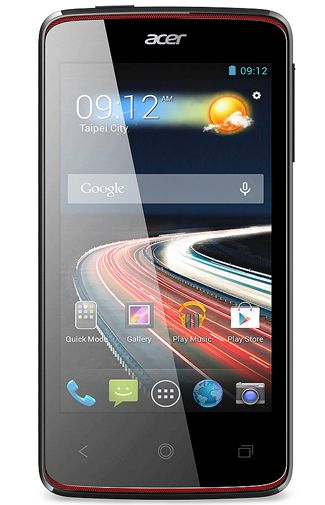 Productafbeelding Acer Liquid Z4 Black