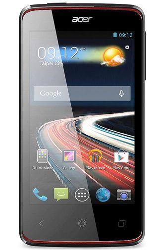 Productafbeelding van de Acer Liquid Z4 Duo Black