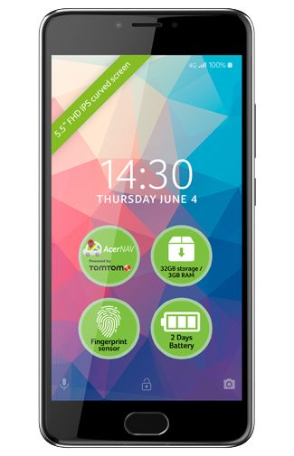 Acer Liquid Z6 Plus Grey