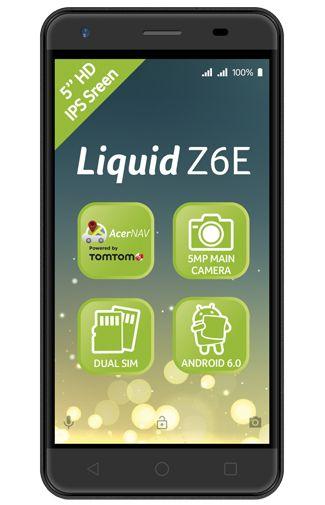 Acer Liquid Z6E Duo Black