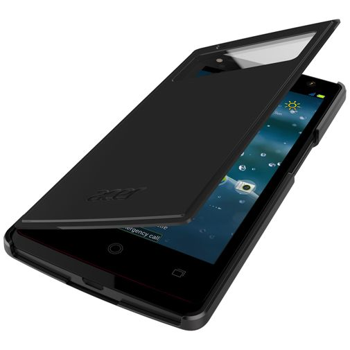 Acer Quick View Flip Case Black Liquid E3