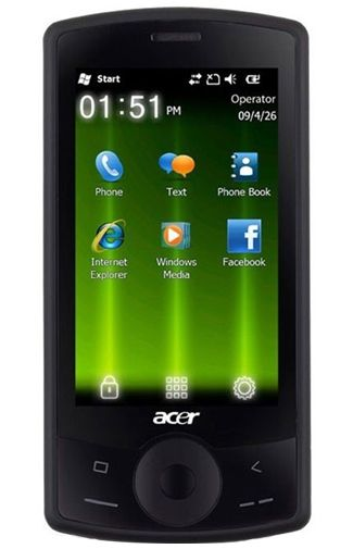 Productafbeelding Acer beTouch E101 Black