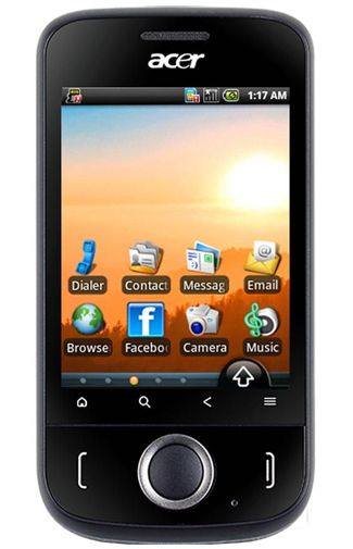 Productafbeelding Acer beTouch E110 Black