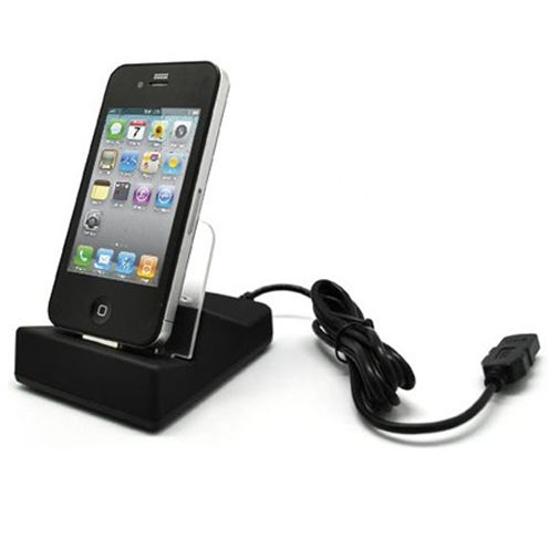 Adapt Bureauhouder & Lader voor Apple iPhone 4/4s