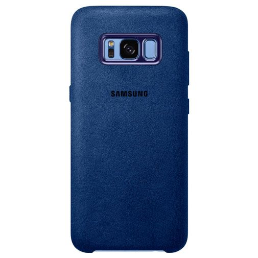 Samsung Alcantara Back Cover Blue Galaxy S8