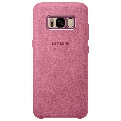Samsung Alcantara Back Cover Pink Galaxy S8