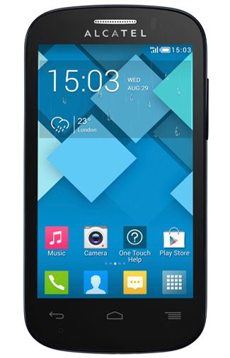 Alcatel OneTouch 4033X Pop C3 Black
