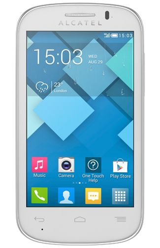 Productafbeelding Alcatel OneTouch 4033X Pop C3 Silver