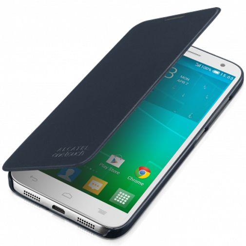 Productafbeelding van de Alcatel Flip Case Grey OneTouch Idol 2 S