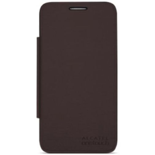 Alcatel Flip Cover Brown OneTouch Pop D5