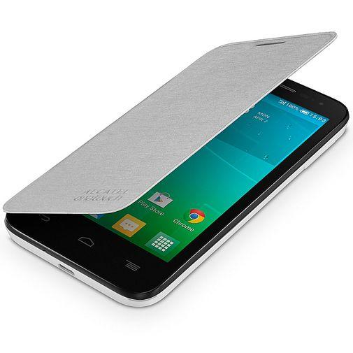 Productafbeelding van de Alcatel Flip Cover White OneTouch Pop D5