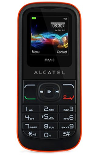 Productafbeelding Alcatel OT-306 Black Orange