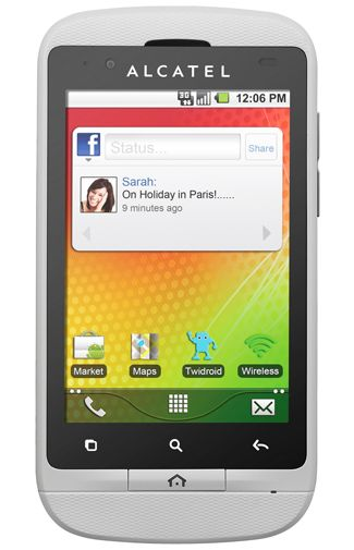 Alcatel One Touch 918D White
