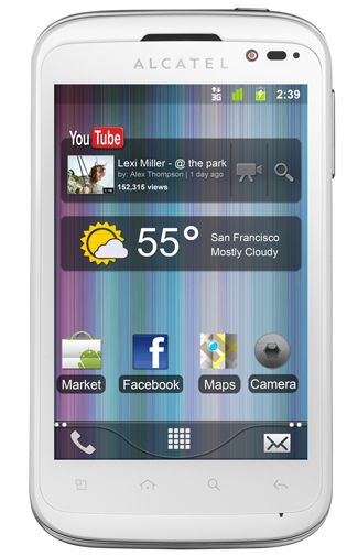 Alcatel One Touch 991D White