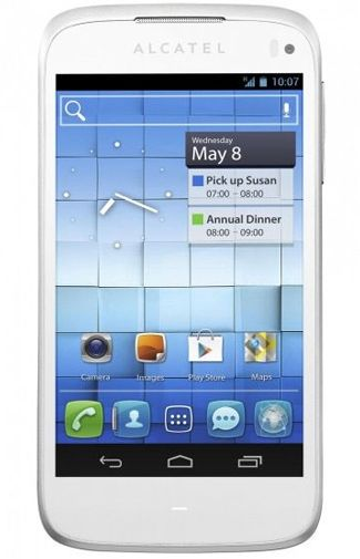 Productafbeelding Alcatel One Touch 997D White