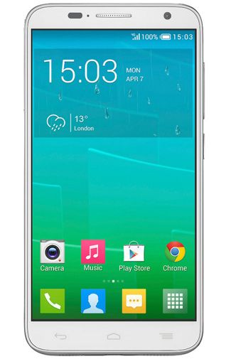 Productafbeelding Alcatel OneTouch Idol 2 S 6050Y White