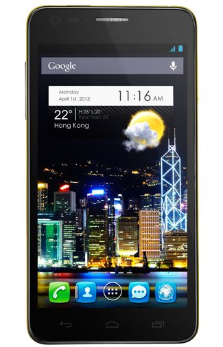 Productafbeelding Alcatel OneTouch Idol Ultra 6033 Yellow
