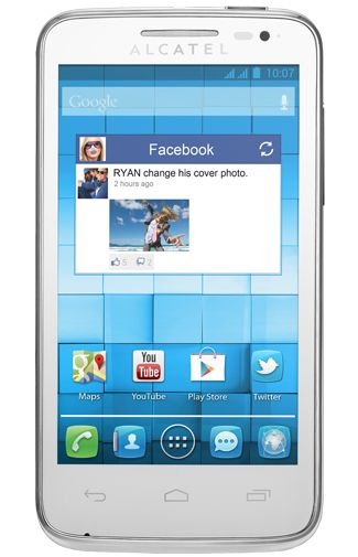 Productafbeelding Alcatel One Touch M Pop 5020D White
