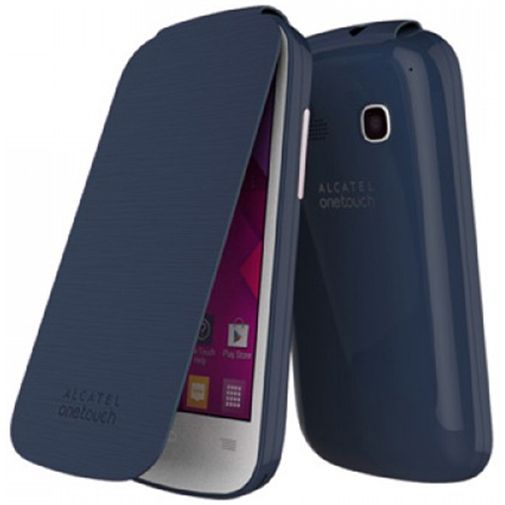 Alcatel One Touch Pop C3 Flip Cover Black