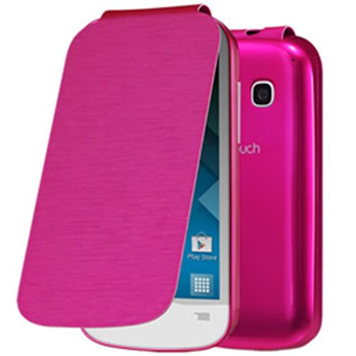 Alcatel One Touch Pop C3 Flip Cover Pink