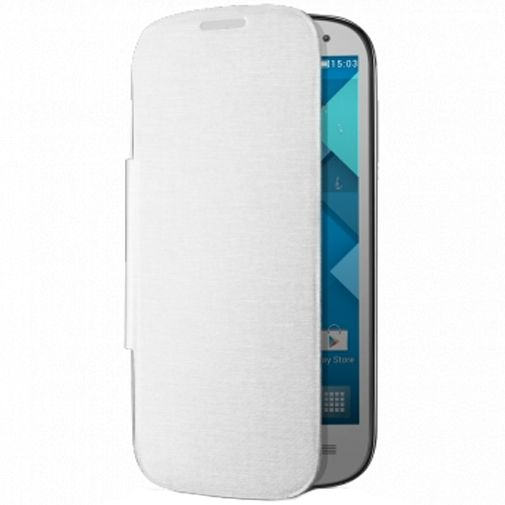 Alcatel One Touch Pop C5 Flip Cover White