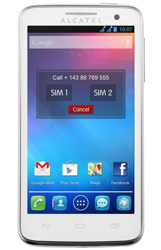Productafbeelding Alcatel One Touch X Pop 5035D White