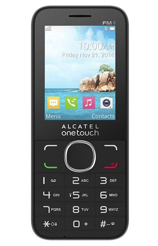 Productafbeelding Alcatel OneTouch 20.45 Black